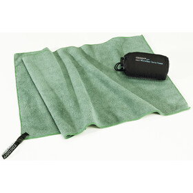 Cocoon Microfiber Terry Handdoek Light Large, bamboo green